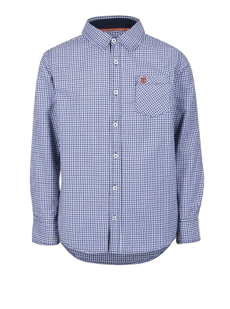 Modrá kostkovaná klučičí košile 5.10.15.