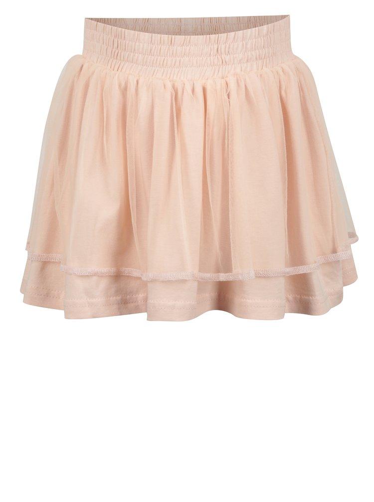 Oranžová holčičí tylová sukně Venere