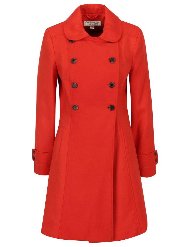 Červený kabát  Miss Selfridge