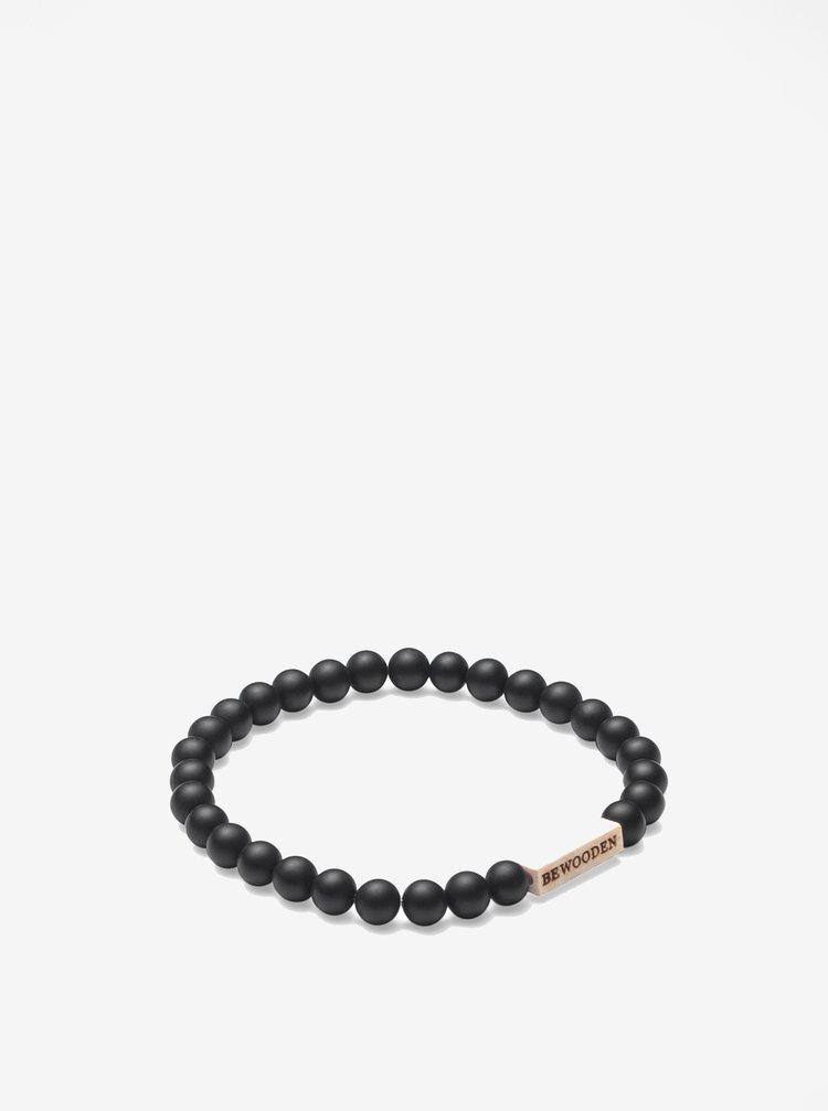 Bratara neagra - BeWooden Nox Dot Bracelet