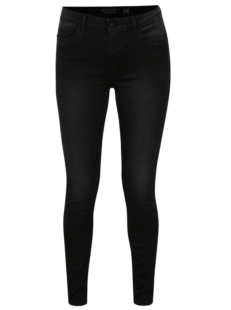 Černé super slim fit džíny Noisy May Lucy