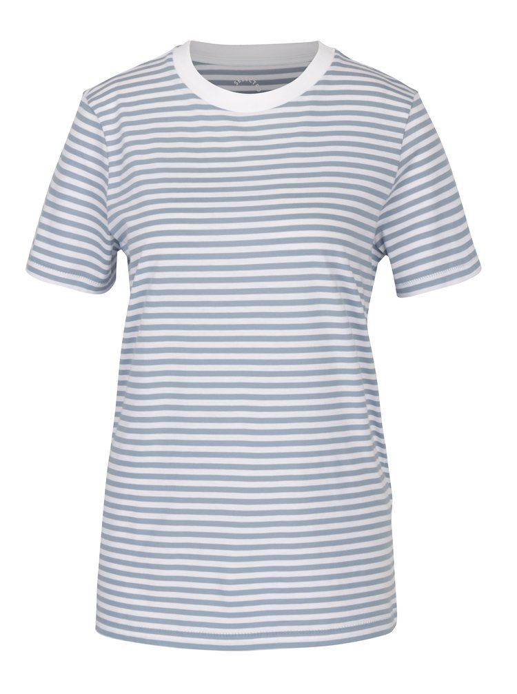 Tricou albastru&alb in dungi - Selected Femme My Perfect