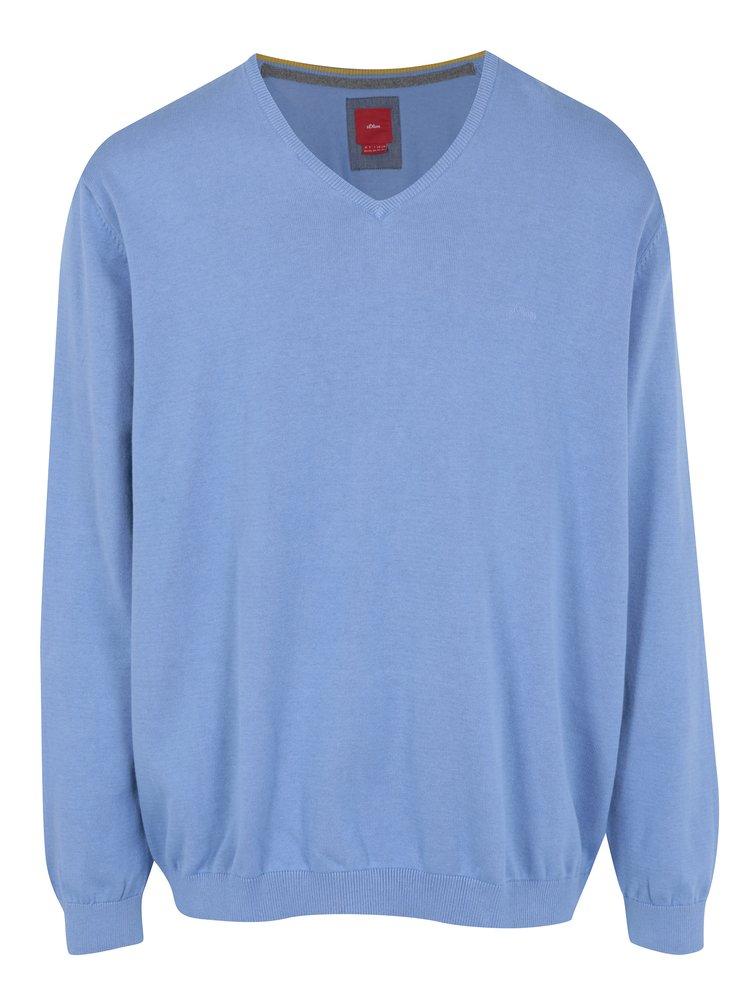 Pulover bleu cu anchior pentru barbati  s.Oliver