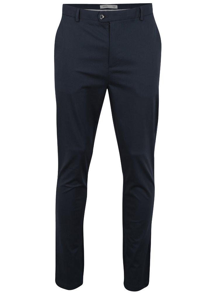 Pantaloni bleumarin chino slim fit  Burton Menswear London