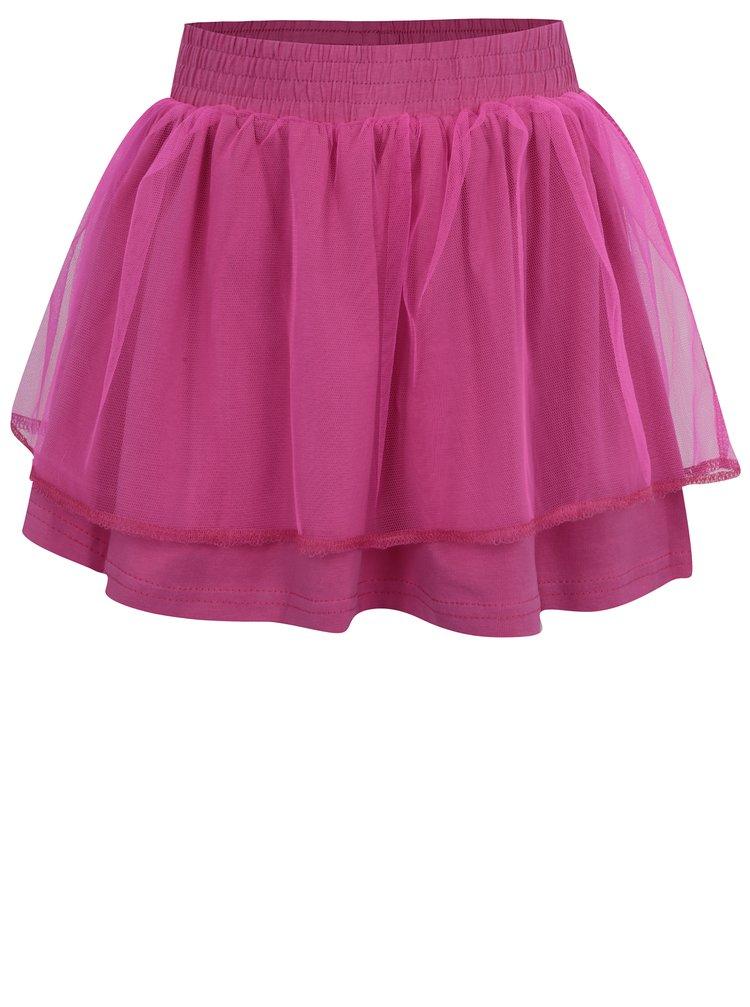 Růžová holčičí tylová sukně Venere