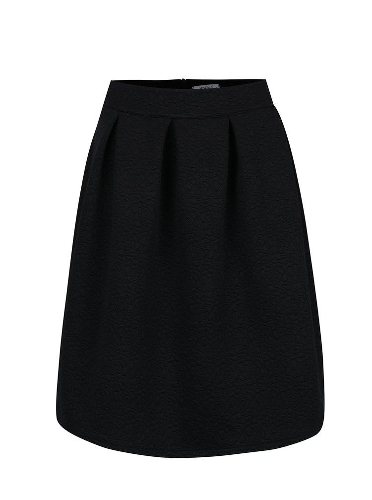 Černá vzorovaná sukně Haily´s Sara
