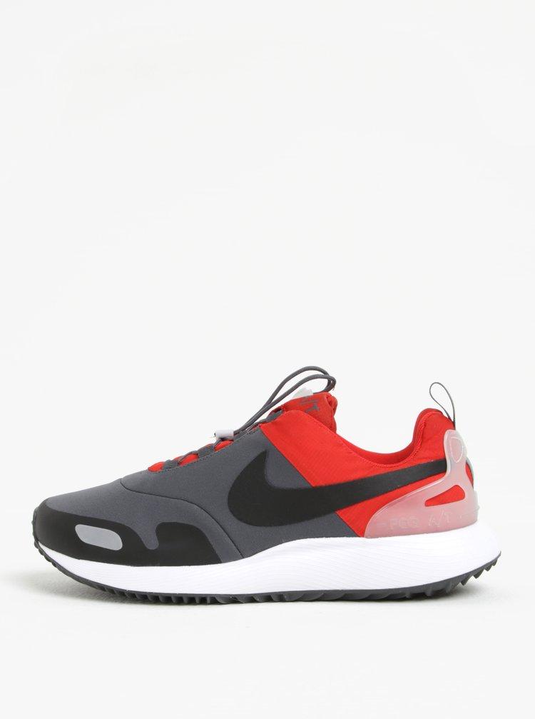 Šedo-červené pánské tenisky Nike Air Pegasus AT