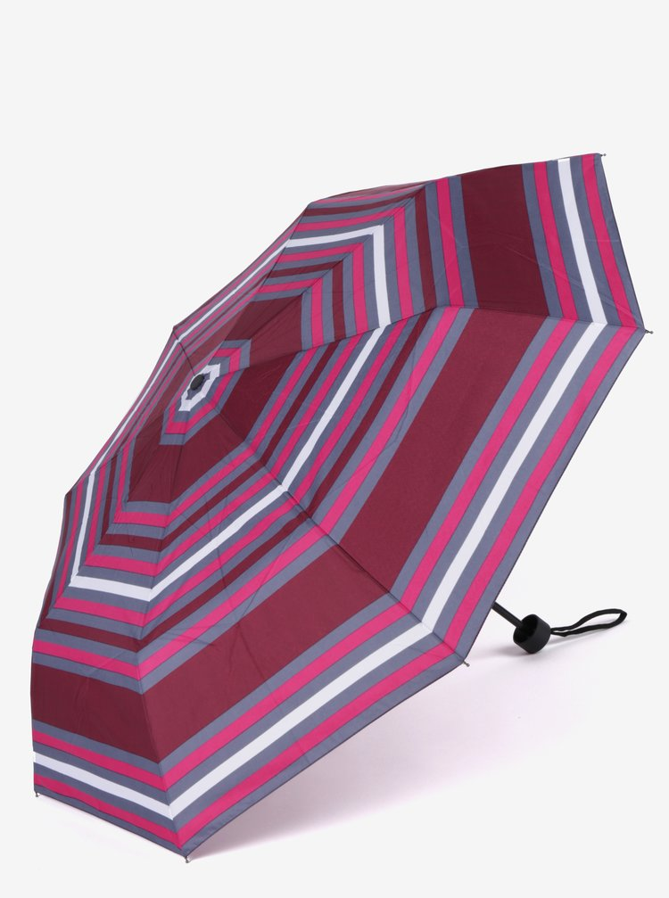 Umbrela gri&bordo pliabila pentru femei - s.Oliver