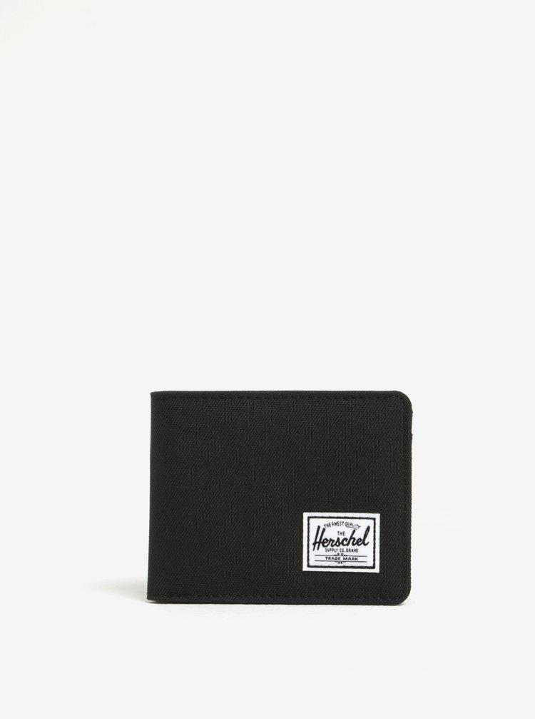 Černá pánská peněženka Herschel Roy