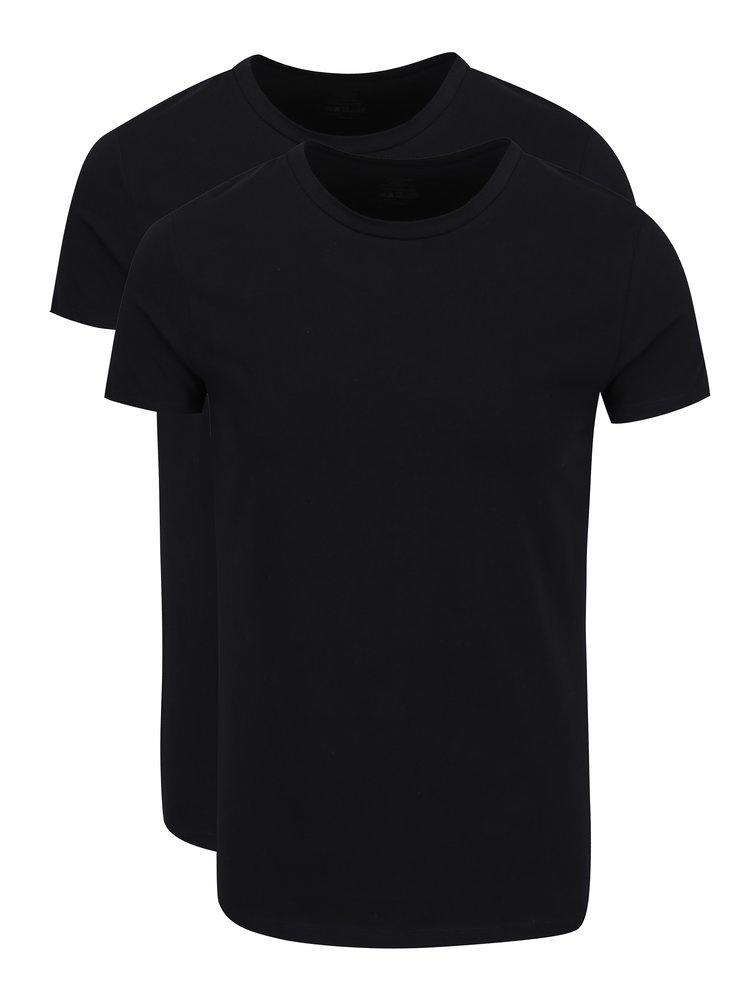 Set de 2 tricouri negre basic - Björn Borg