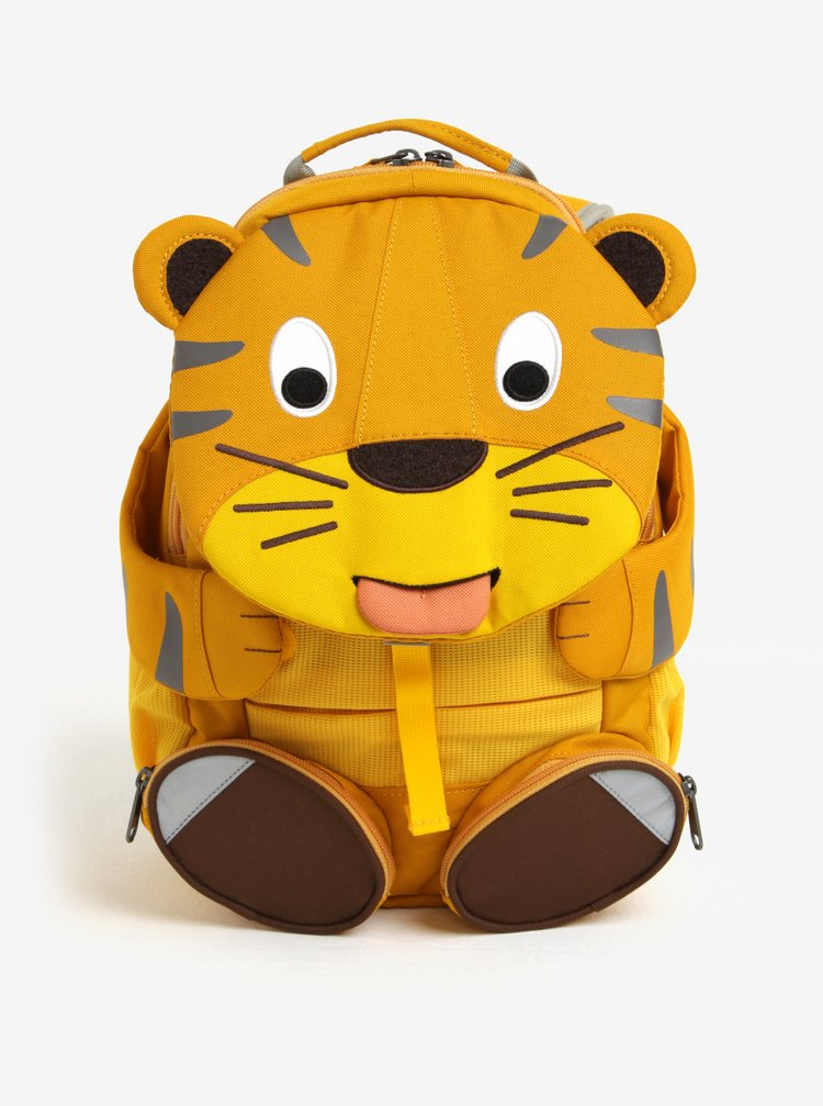Oranžový batoh ve tvaru tygra Affenzahn 8 l