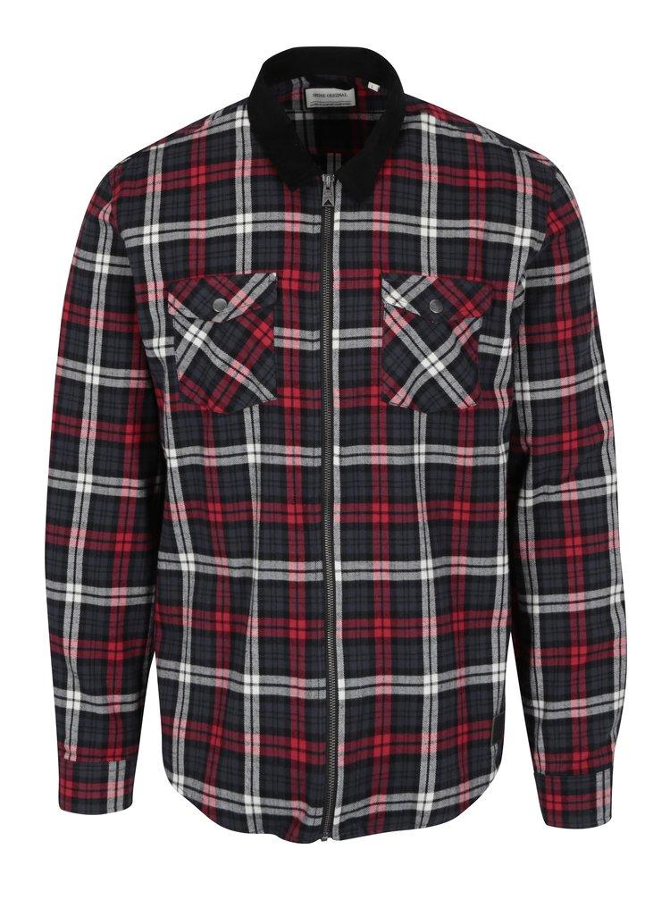 Modro-červená károvaná košile Shine Original