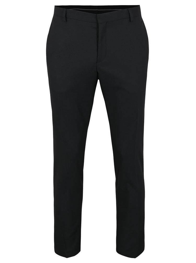 Černé oblekové kalhoty Selected Homme Done Tux