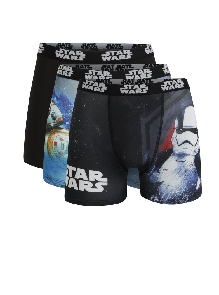 Set de 3 perechi de boxeri barbatesti Star Wars - Star Wars Freegun