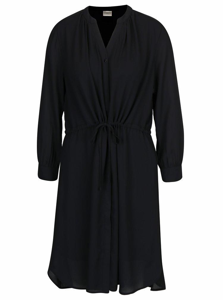 Černé šaty Selected Femme Damina