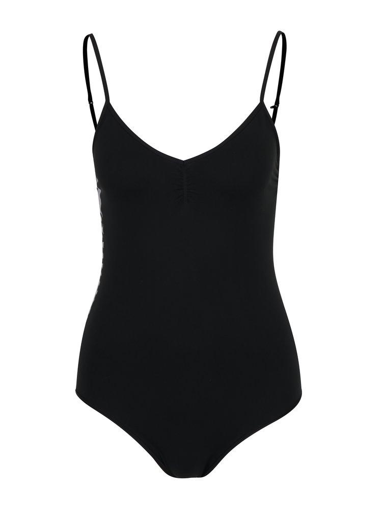 Černé dámské body s nápisem na boku Calvin Klein Underwear