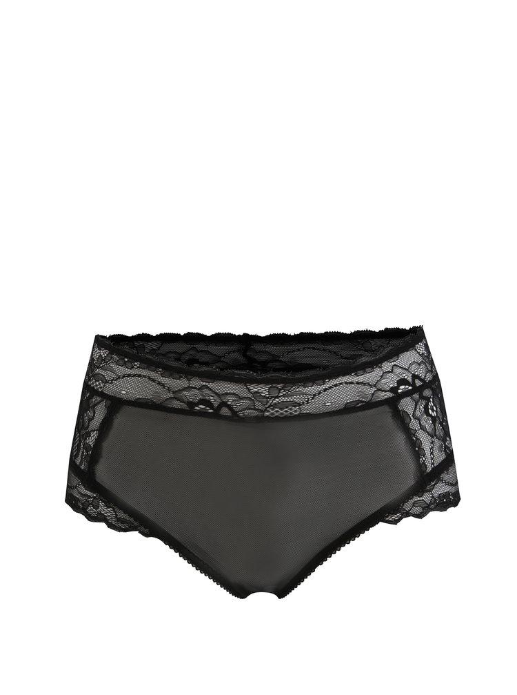 Černé krajkové kalhotky Y.A.S Esther