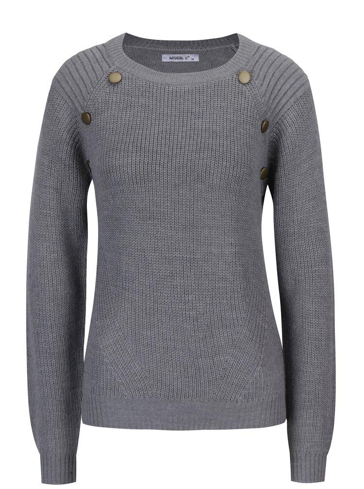 Šedý svetr Haily´s Cindy
