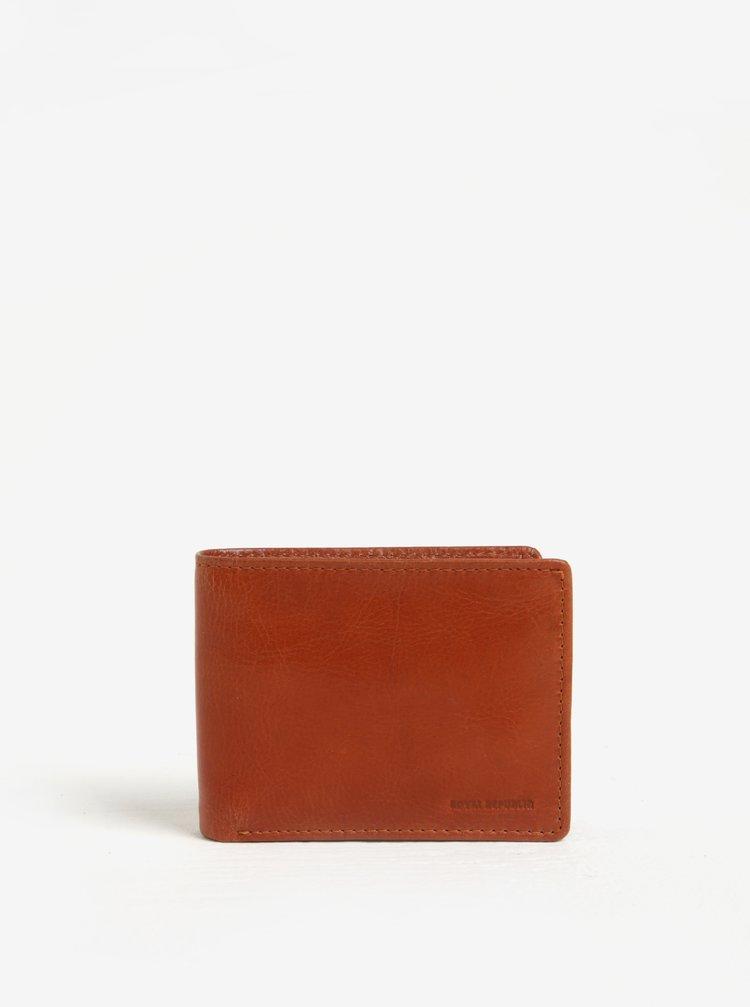 Světle hnědá pánská kožená peněženka Royal RepubliQ