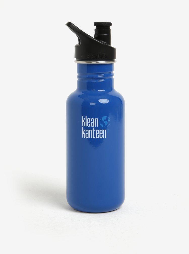 Tmavě modrá nerezová lahev Klean Kanteen Kid Classic 532 ml