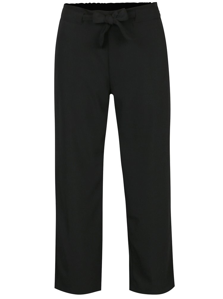 Čierne nohavice s viazankou Jacqueline de Yong Chung
