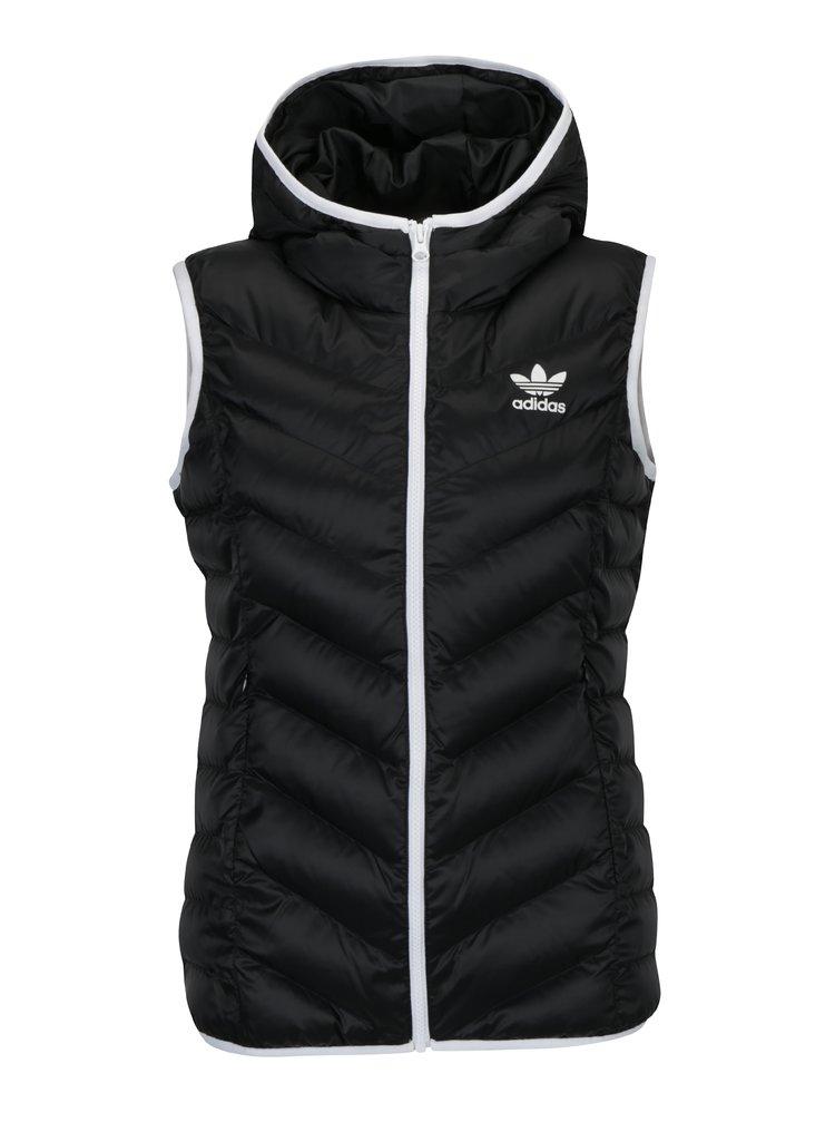 Černá dámská prošívaná vesta adidas Originals