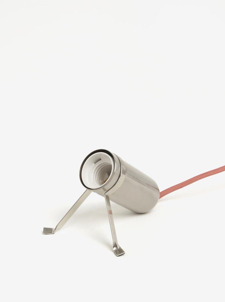 Stolní lampa ve stříbrné barvě BUTLERS