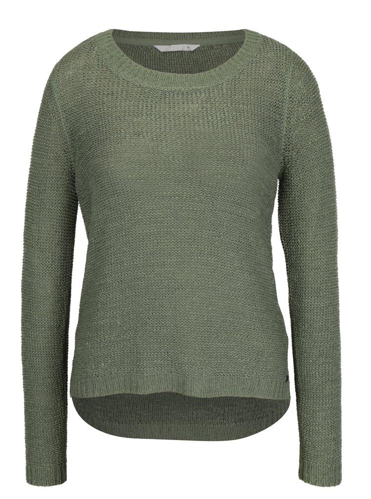 Zelený pletený svetr ONLY Geena