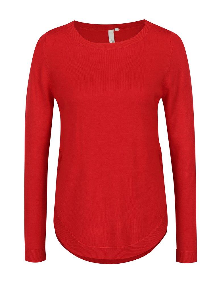 Červený dámsky sveter s.Oliver