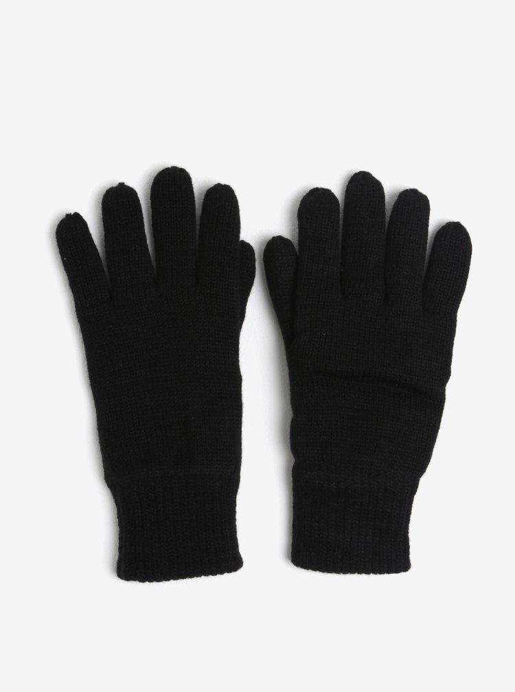 Černé rukavice Burton Menswear London