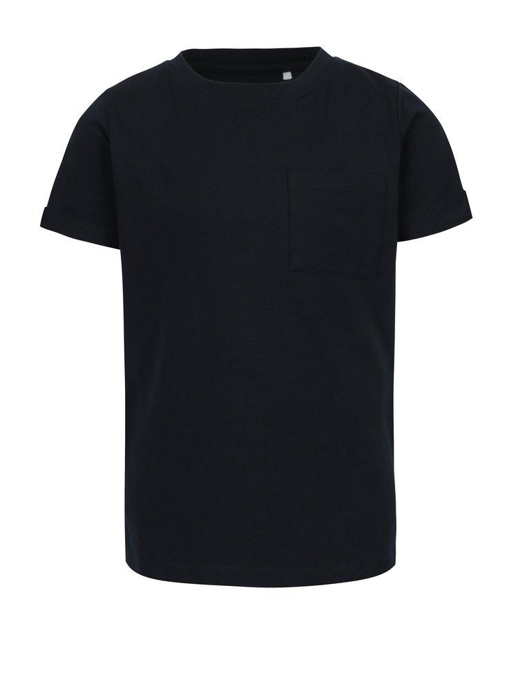Tmavě modré klučičí tričko name it Vester
