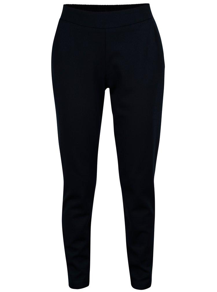 Pantaloni elastici bleumarin cu buzunare - Jacqueline de Yong Alfa