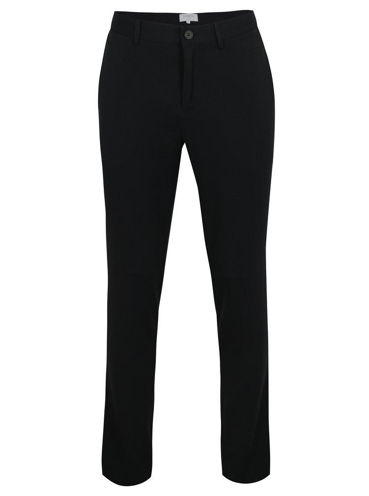 Pantaloni elastici bleumarin cu buzunare - Lindbergh
