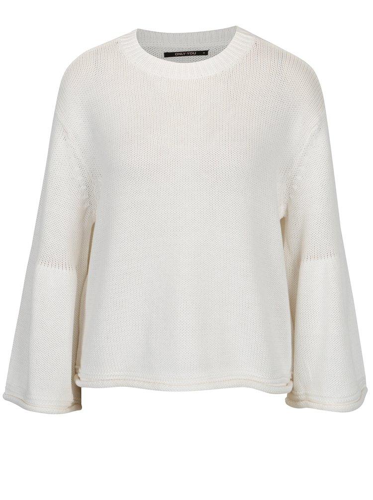 Krémový volný svetr ONLY Sana