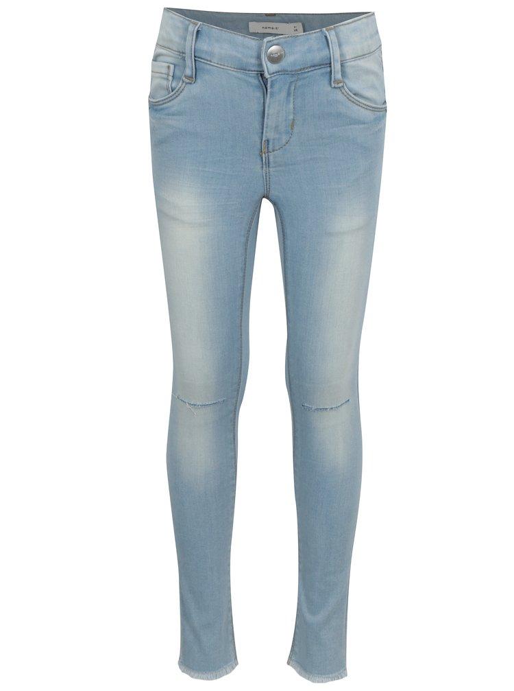 Světle modré holčičí skinny džíny name it Polly