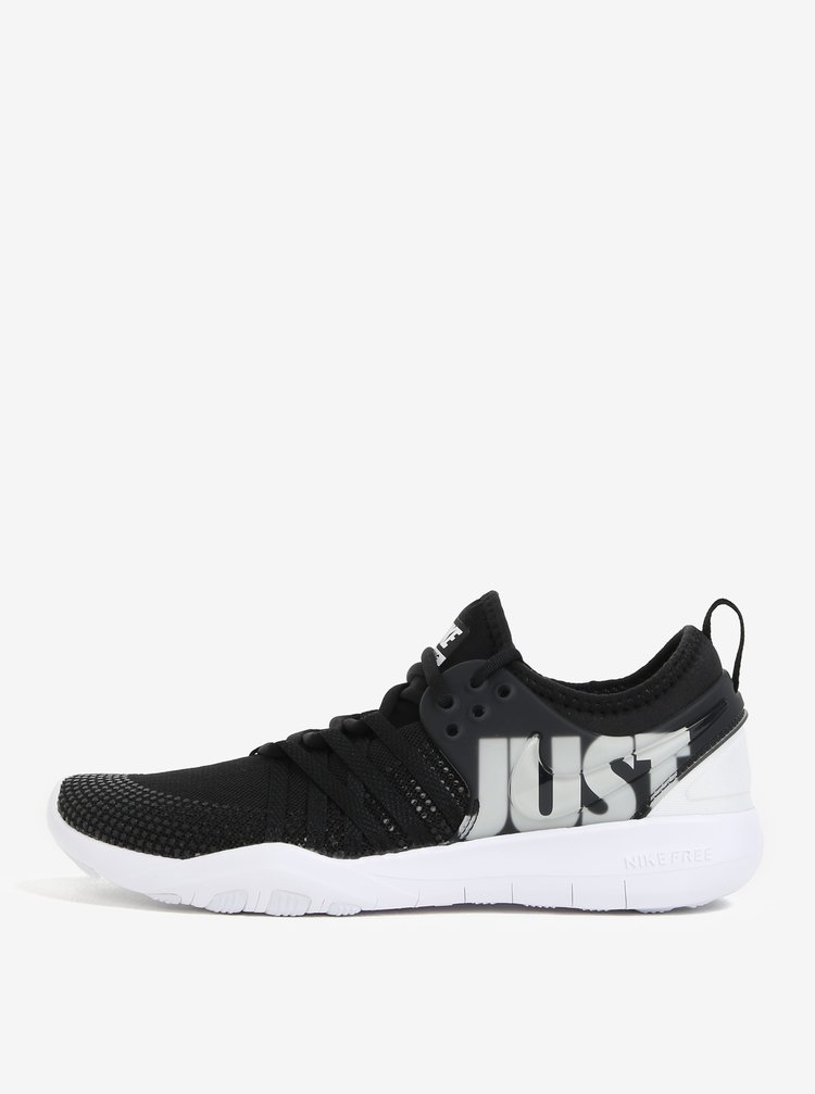 Černé dámské tenisky Nike Free TR 7 Premium Training