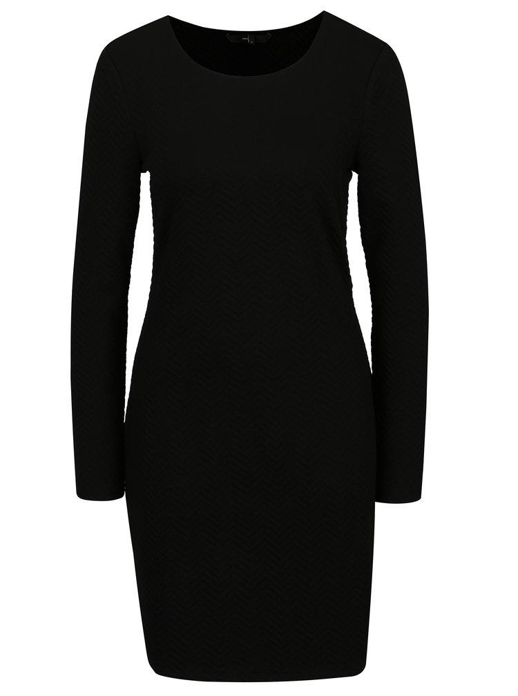 Černé šaty VERO MODA Jazelda