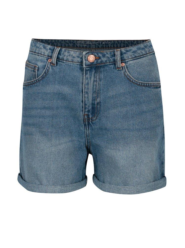 Pantaloni scurti din denim cu talie inalta - Noisy May Be Liv