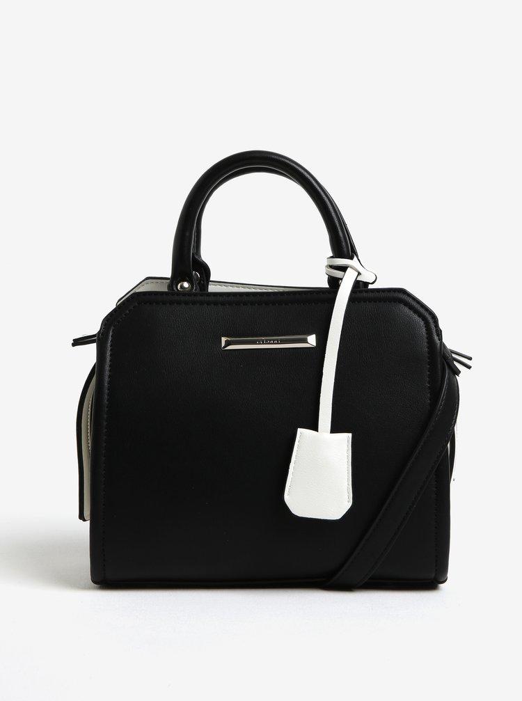 Krémovo-černá kabelka Gionni Abbie