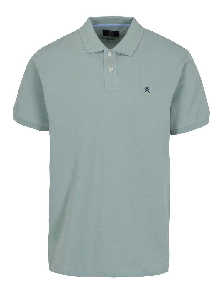 Světle zelené polo tričko s logem Hackett London Classic