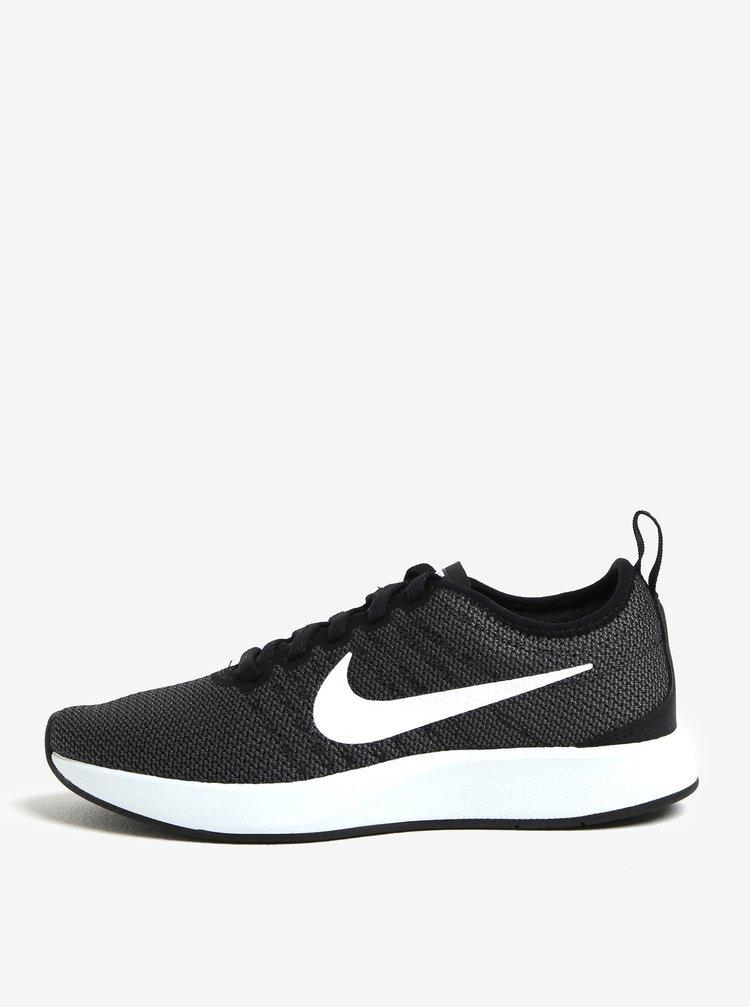 Černo-šedé dámské tenisky Nike Dualtone Racer