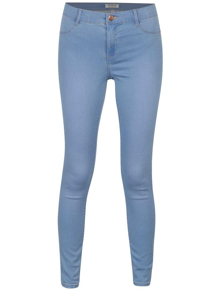 Blugi super skinny albastri Dorothy Perkins Frankie