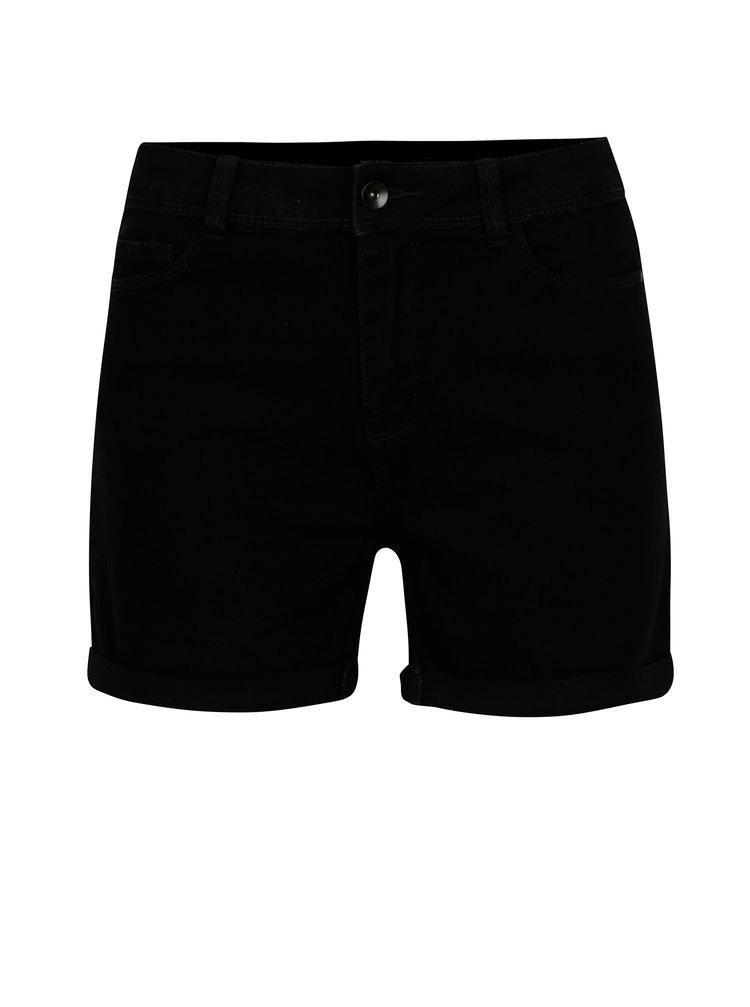 Pantaloni scurti negri din denim - VERO MODA Seven