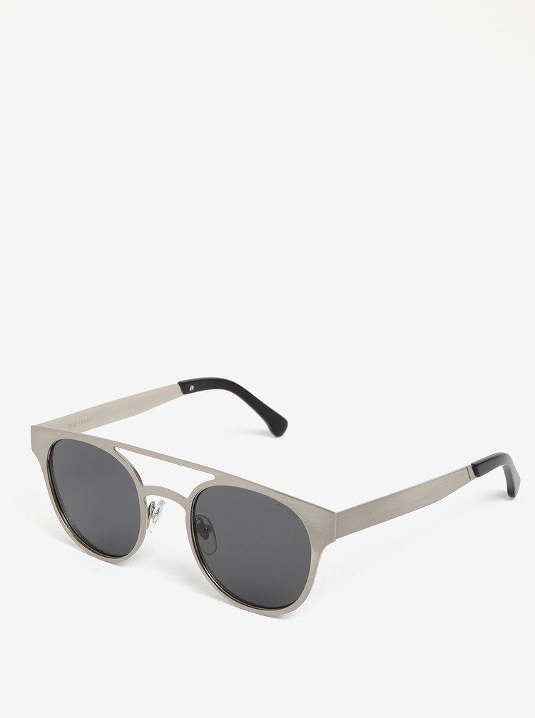 Pánské sluneční brýle ve stříbrné barvě Komono Finley