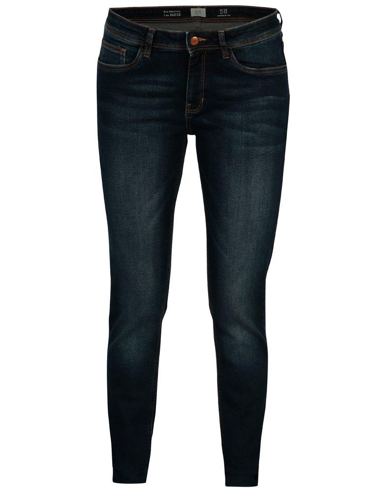 Tmavě modré dámské super slim fit džíny s.Oliver