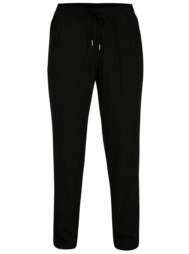 Černé lehké kalhoty ONLY Nova