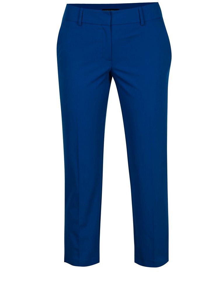 Modré zkrácené kalhoty Dorothy Perkins