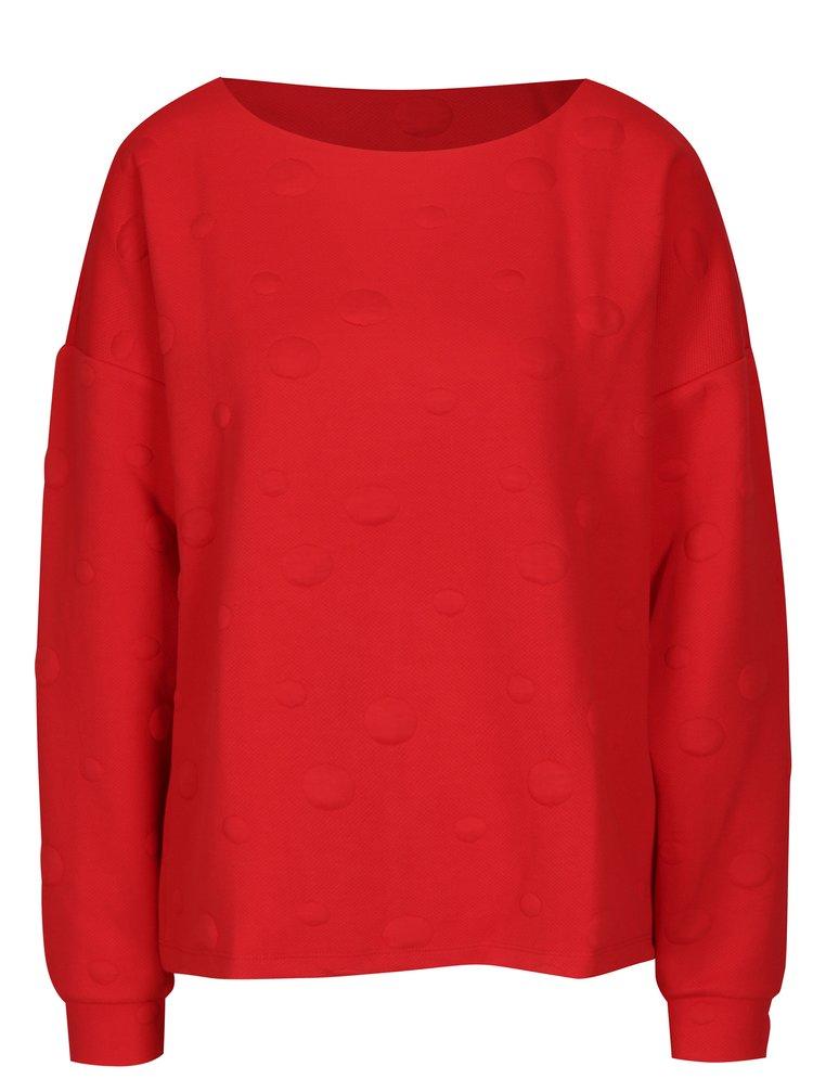 Bluza rosie cu buline Jacqueline de Yong Arra