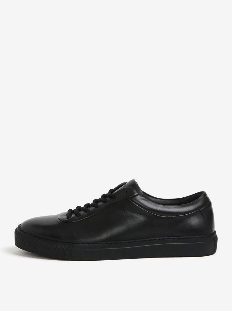 Čierne pánske kožené tenisky Royal RepubliQ