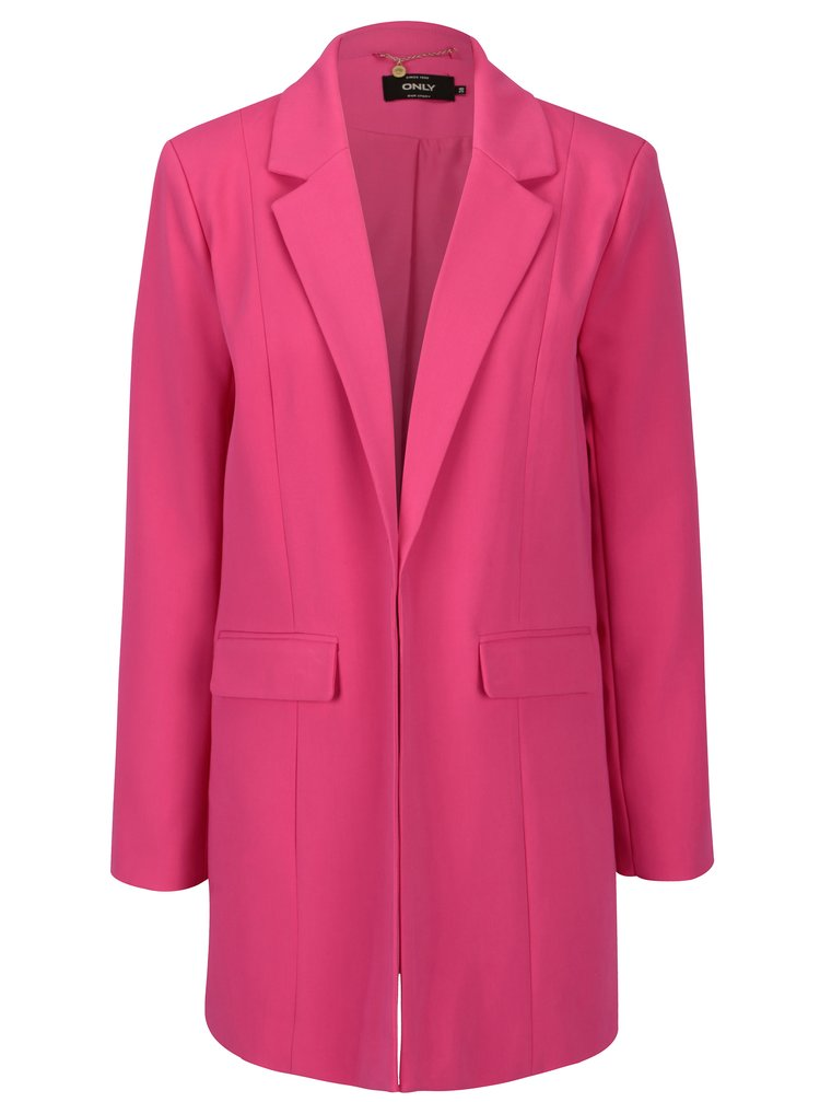 Růžové sako ONLY Kiara